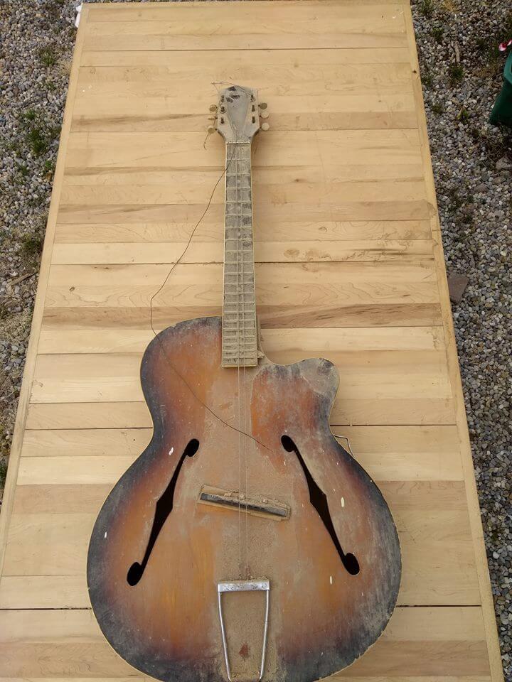 Cork Guitars - Jazz guitar before