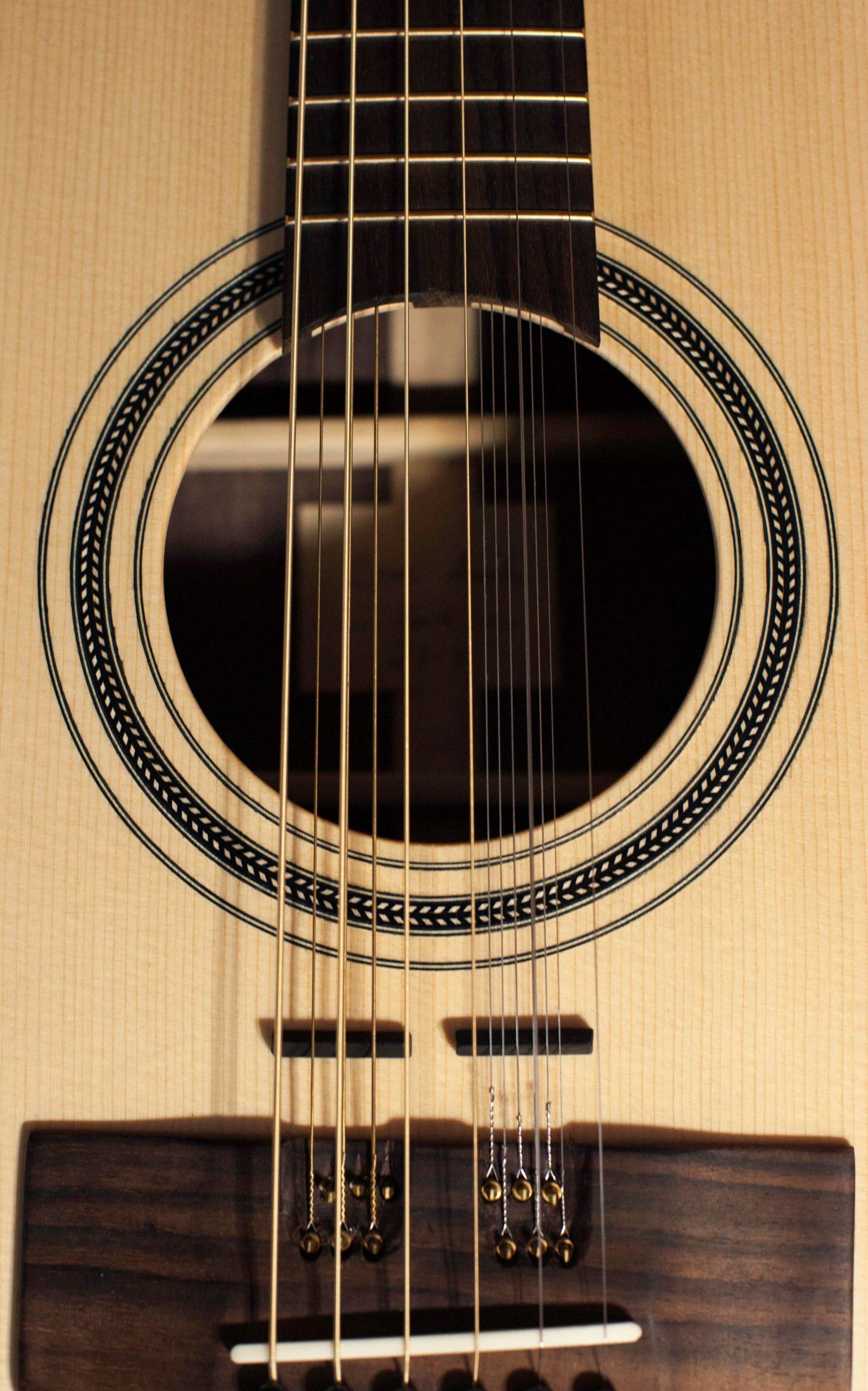 Cork-Guitars - string sound hole