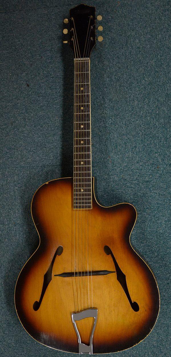 Cork Guitars - instrument after repairing